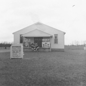 Allen Baptist Church 1959